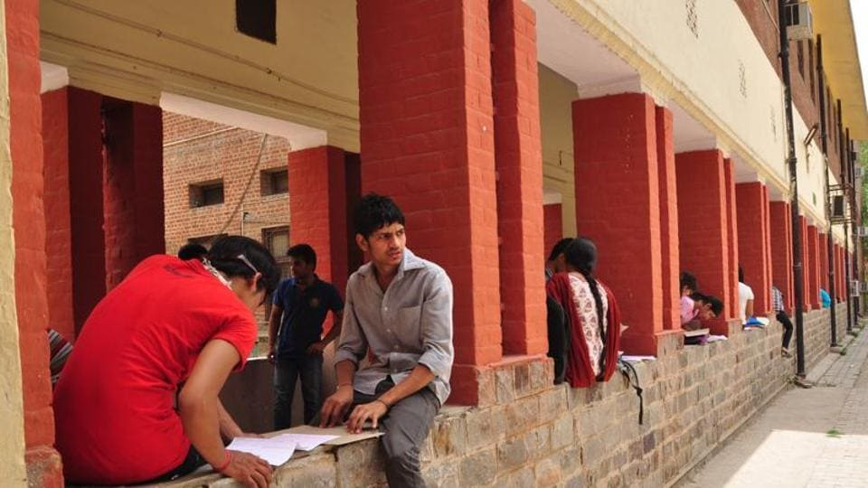 UGC on Monday told the Delhi Commission of Women that Hindu college authorities have to resolve on their own the issue of charging of higher fee at the girls hostel.