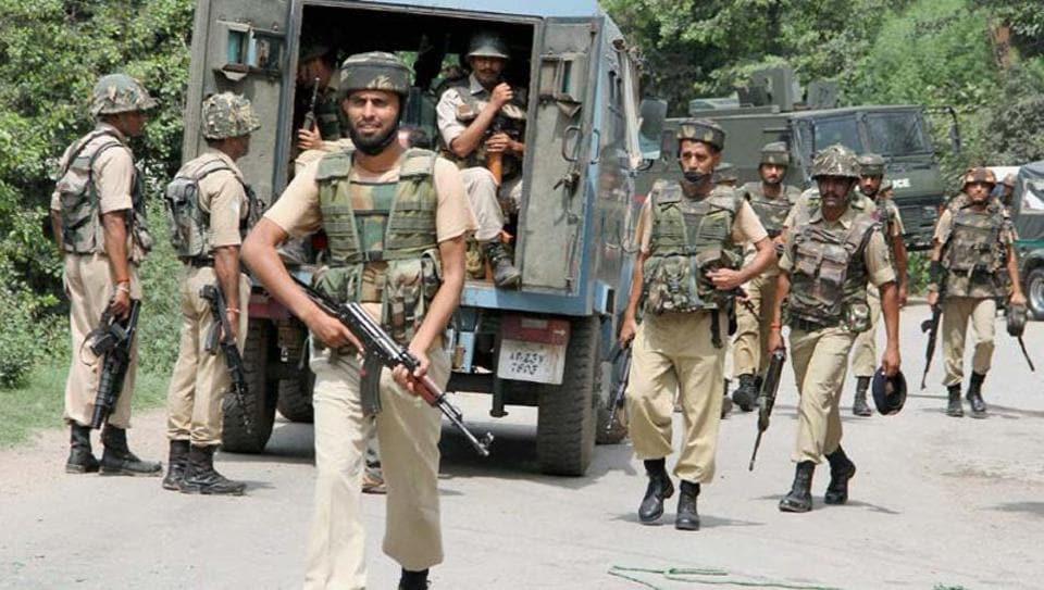 Kashmir,Shopian,security
