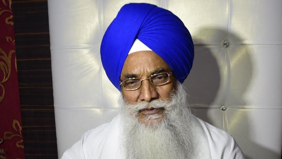 Akal Takht jathedar (head) Giani Gurbachan Singh