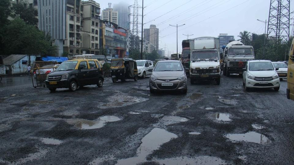 The Mumbai traffic police have deployed police personnel at affected areas to ease the congestion.