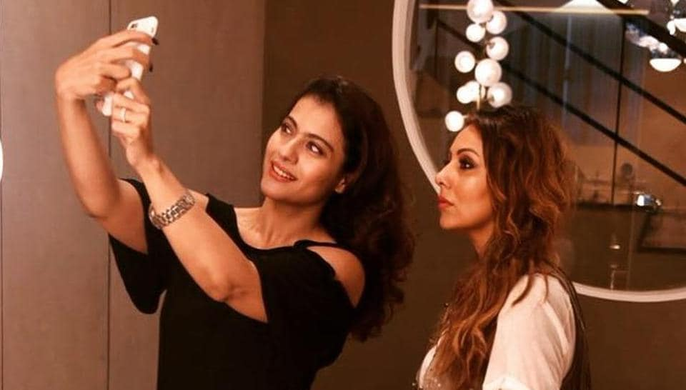 Kajol and Gauri Khan posted several pictures with each other.