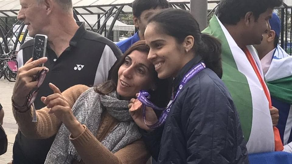 Carolina Marin,PV Sindhu,Saina Nehwal