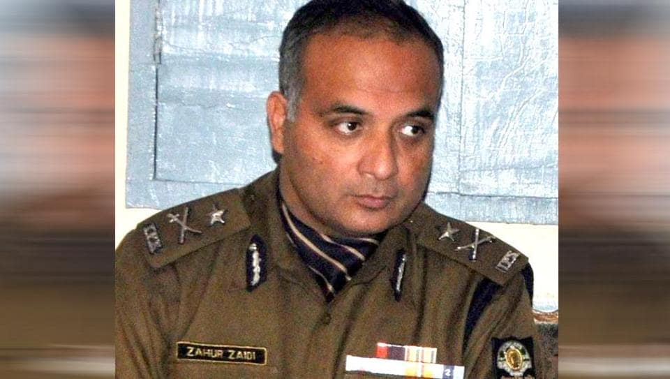 Inspector general Zahur Haidar Zaidi of the SIT who was arrested by the CBI on Tuesday. (HT photo)