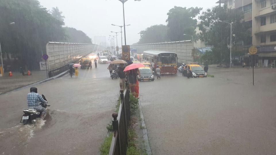 Mumbai,Mumbai Rains,Waterlogging