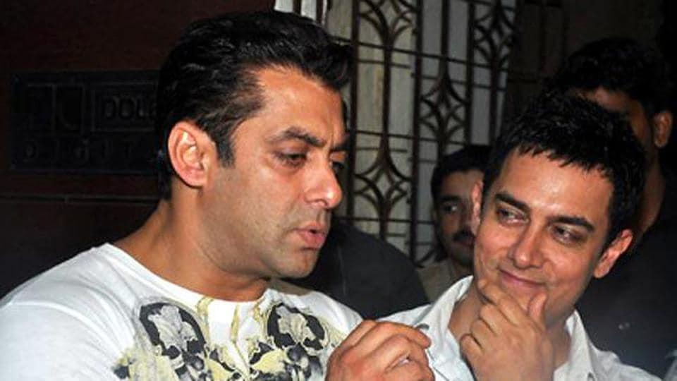Salman Khan,Aamir Khan,Secret Superstar