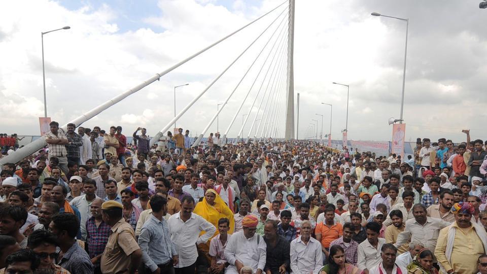 Narendra Modi,Cable-stayed bridge,Rajasthan