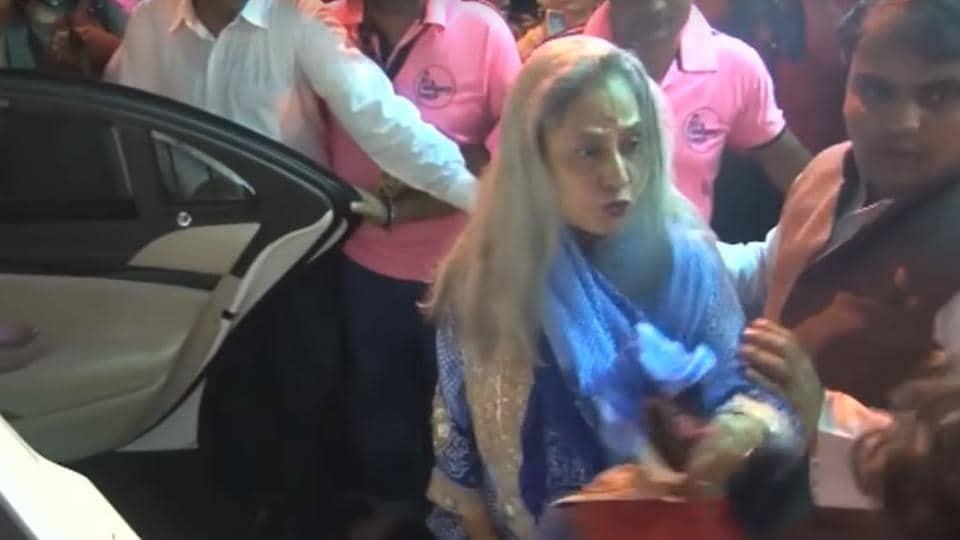 Jaya Bachchan,Angry,Video