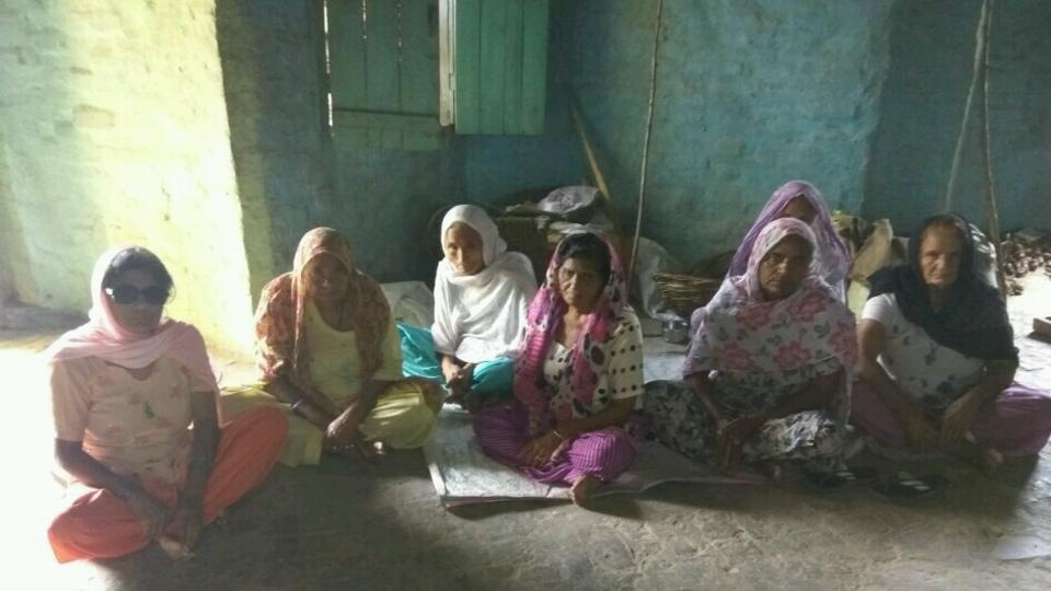 Women Sewadars at Barnawa centre of Dera Saccha Sauda believe their Guru had been implicated in a fake case.