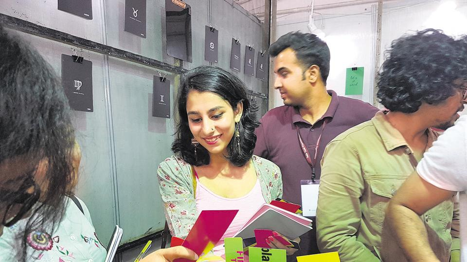 Visitors are loving the quirky products available at the ongoing Stationery Fair in Pragati Maidan.