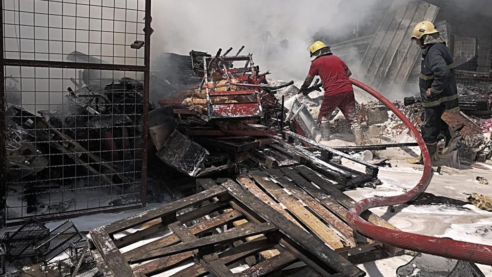 A car bomb exploded at the wholesale Jamila market in Baghdad's Shiite district of Sadr City on Monday morning, killing 12 people and wounding atleast 28. In a statement carried out by Amaq, the Islamic State group claimed responsibility for the attack. (AP)