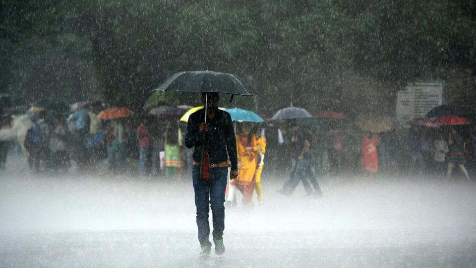 Heavy rains pounded Mumbai on Tuesday and the outburst is likely to last till Thursday.