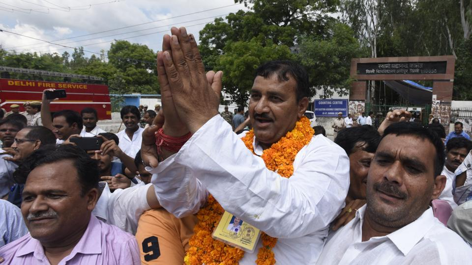 Bawana bypoll,Bawana assembly byelection,Bawana bypoll result