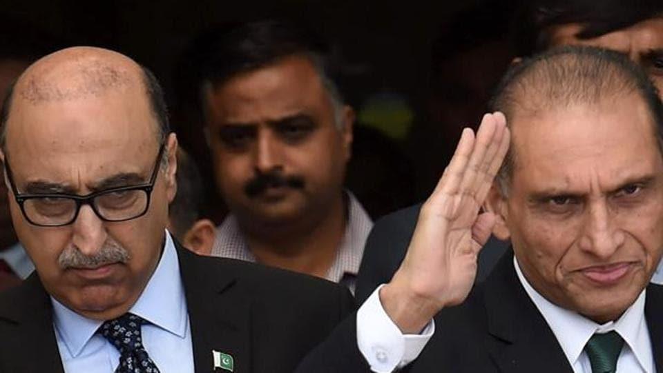 Pakistan Foreign Office,Abdul Basit,Aizaz Ahmad Chaudhry