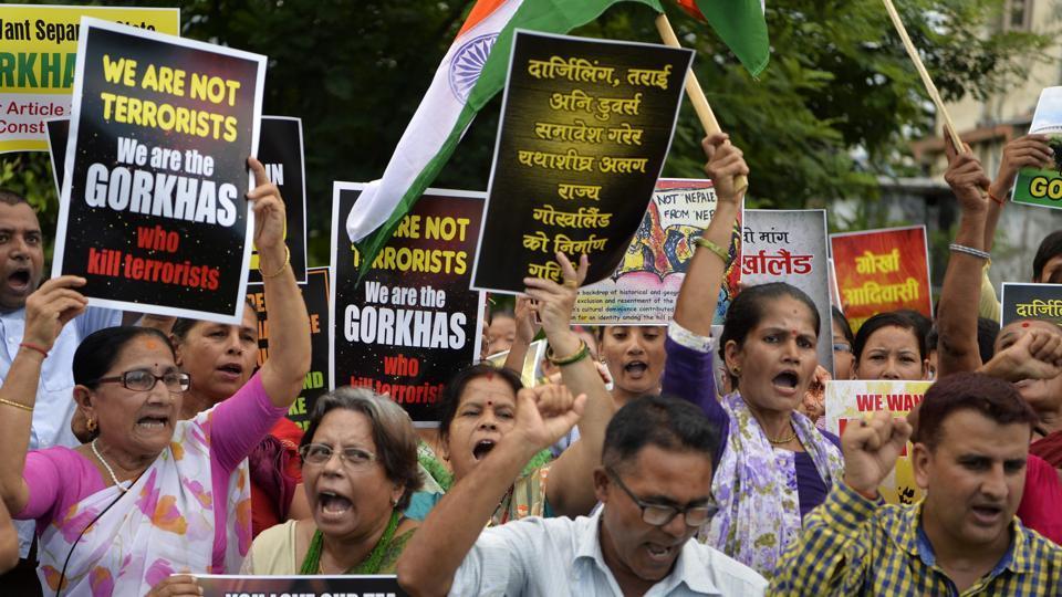Gorkhaland,Gorkhaland unrest,GJM