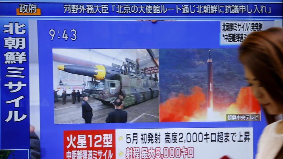 North Korea,Japan,North Korea missile test