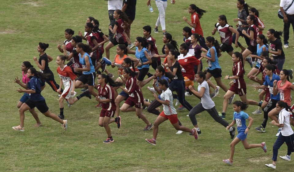 130aa43dbf6 Mahamaya Balika Inter-College and Vishwa Bharati win cross country ...