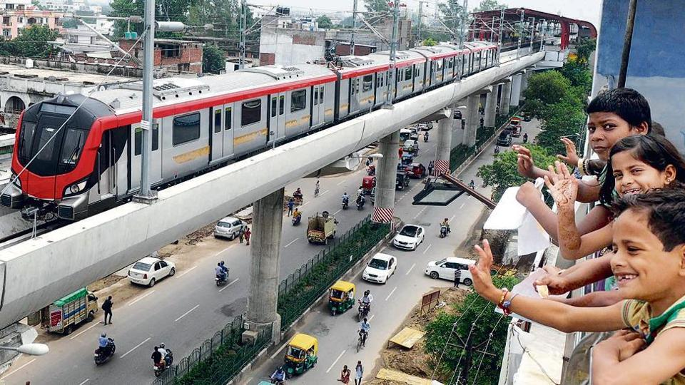 LMRC,Lucknow metro,Eco-friendly travel