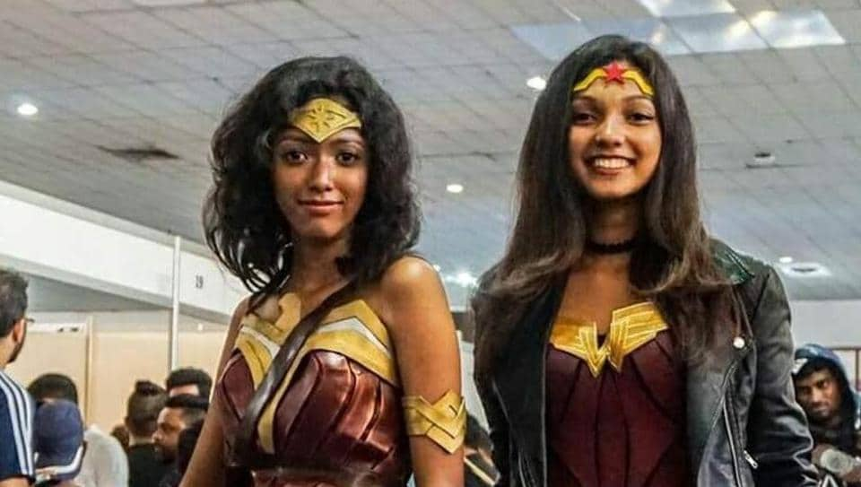 Amaya Suriyapperuma and Seshani Cooray cosplayed Wonder Woman at the recently-concluded Lanka Comic Con 2017.