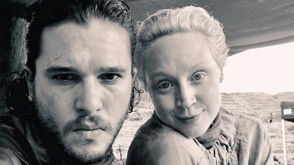 Game of Thrones,Gwendoline Christie,Kit Harington