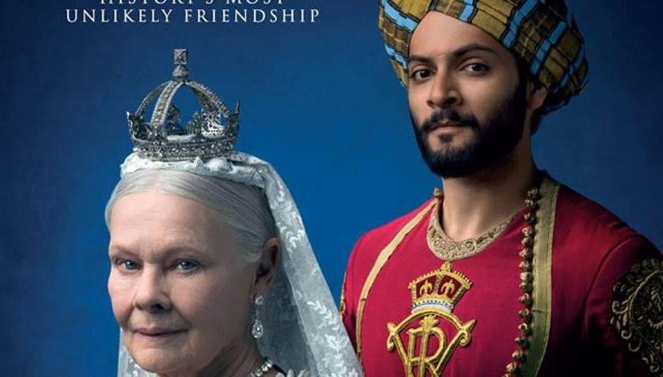 Victoria and Abdul stars Dame Judi Dench and Ali Fazal.