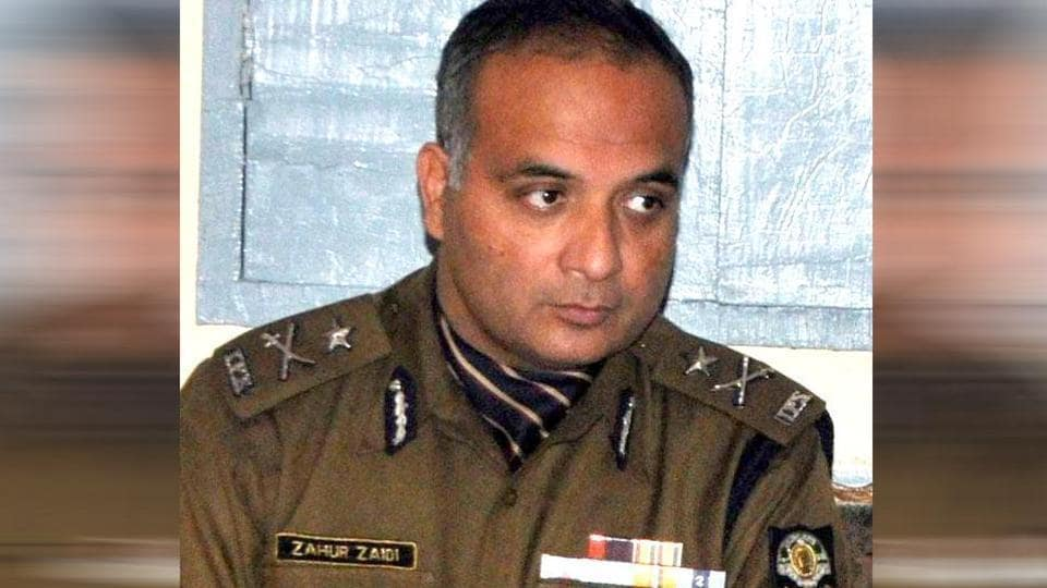 Inspector general Zahur Haidar Zaidi of the SITwho was arrested by the CBI on Tuesday.