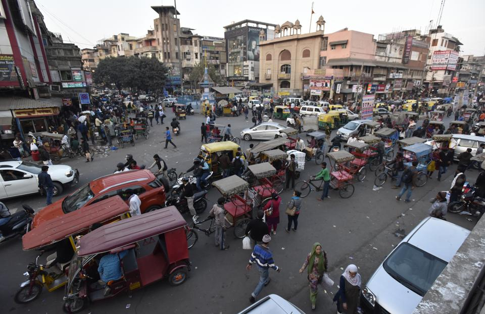 The incident took place in Chandni Chowk.