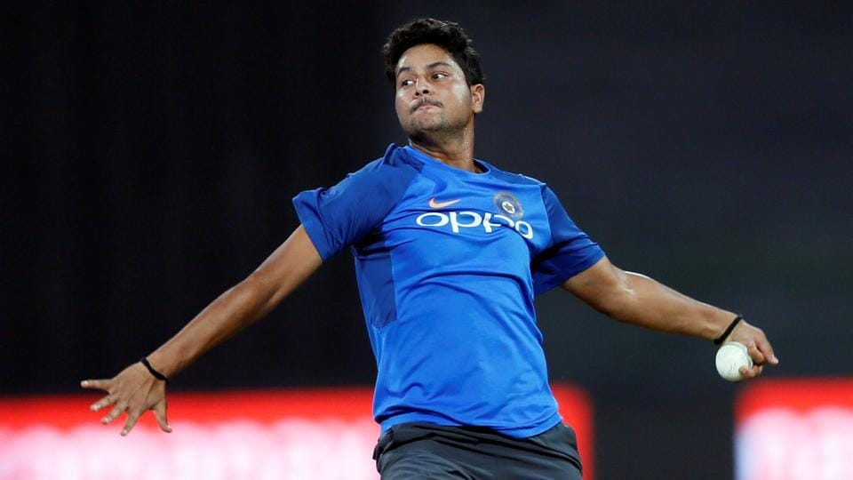 Kuldeep Yadav could play his first ODI of the series.  (REUTERS)