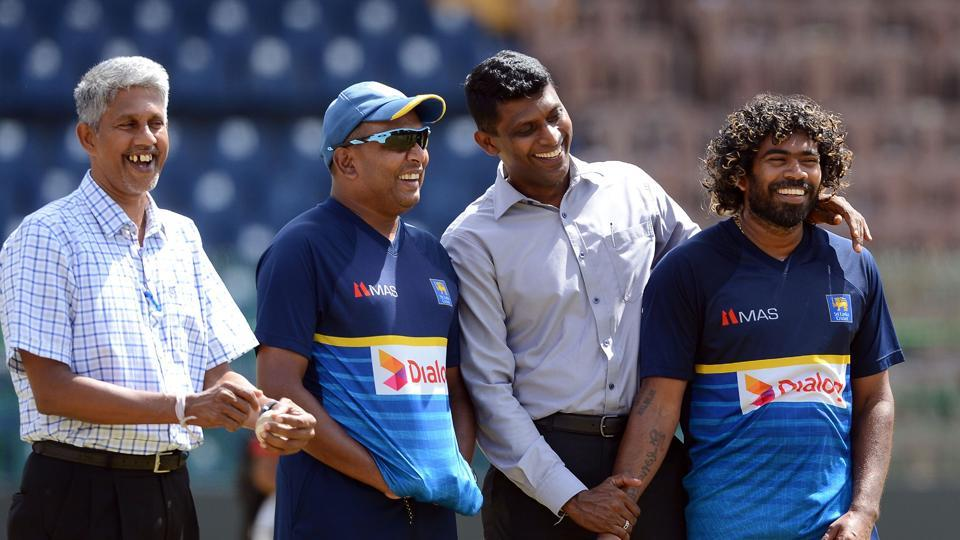 Lasith Malinga will lead Sri Lanka in the fourth ODI against India in Colombo.  (AFP)
