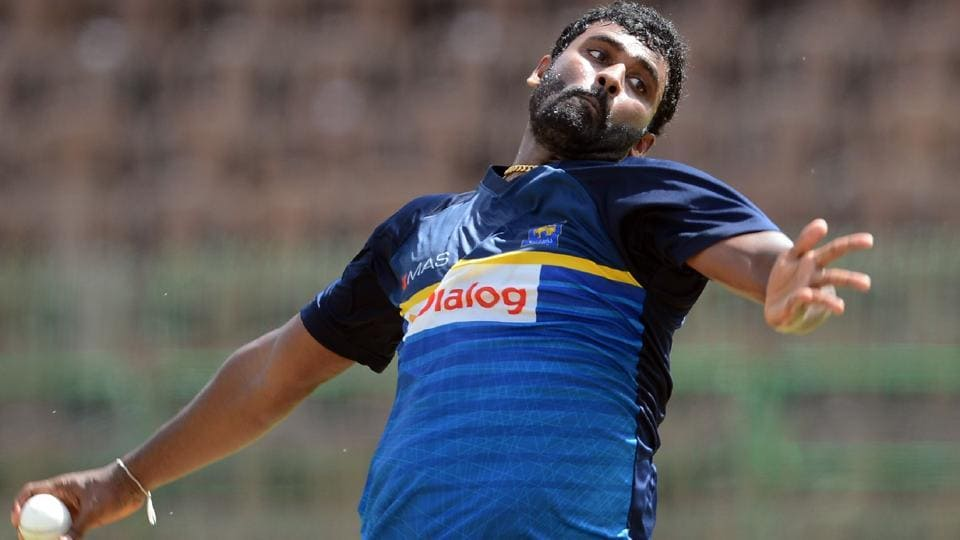 Thisara Perera could play his first ODI of the series.  (AFP)
