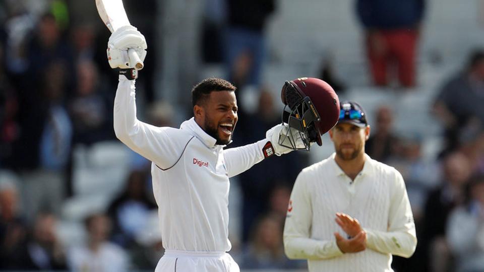 England vs West Indies,Shai Hope,West Indies