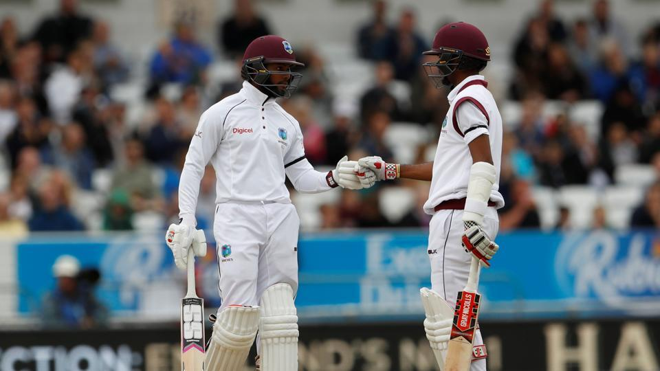 However, Shai Hope, along with Brathwaite put England on top with a magnificent stand as they stayed in the hunt. (Action Images via Reuters)