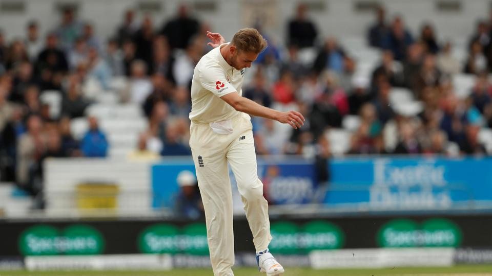 Broad and Anderson were unable to break the stand as the pressure mounted.  (Action Images via Reuters)