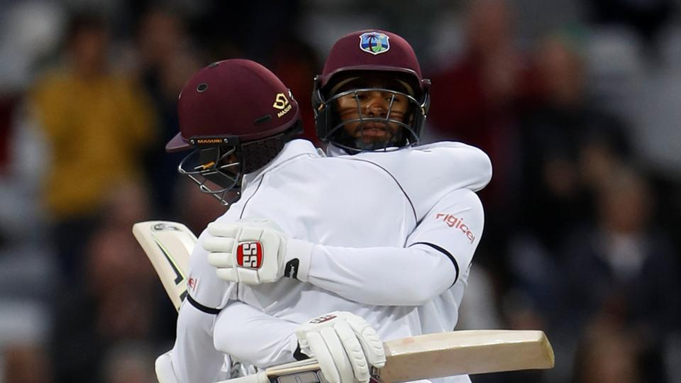 This was West Indies' first Test win over England since 2000 and it summed up a brilliant comeback after their drubbing in Edgbaston. (Action Images via Reuters)