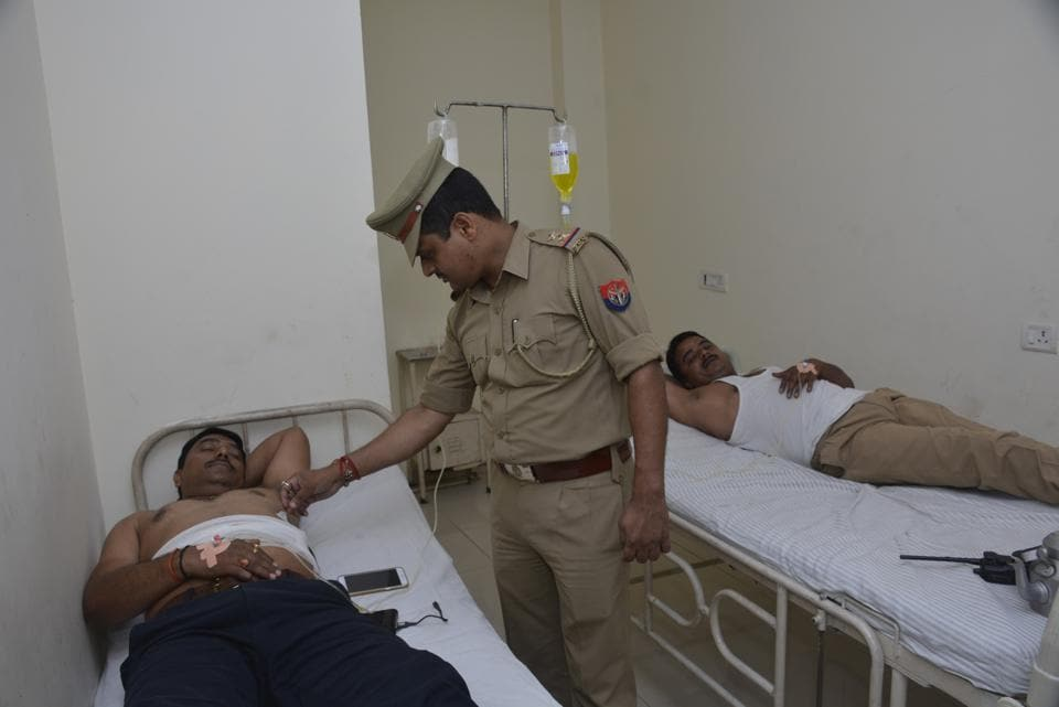 Ghaziabad,Police encounter,gangster