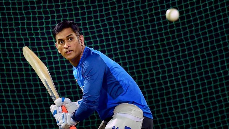 MS Dhoni is set to play his 300th One-day International on Thursday.  (PTI)