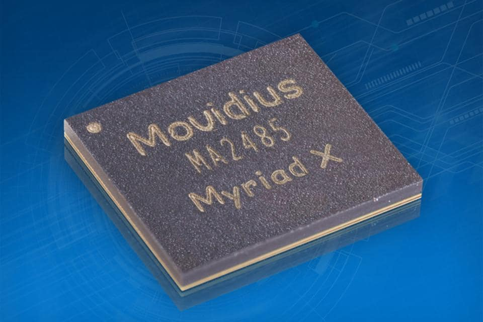 Intel announces the Movidius Myriad X