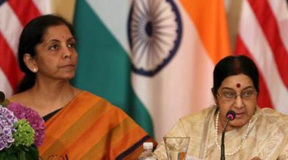 Sushma Swaraj,Nirmala Sitharaman,Russia