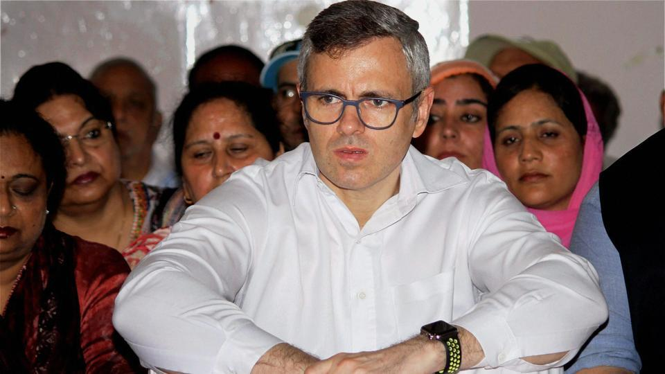Jammu & Kashmir Former Chief Minister and National Conference President Omar Abdullah, during one-day convention of Article 35A, at Sher-e-Kashmir Bhavan in Jammu on August 14, 2017.