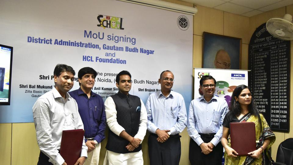 Noida,HCL Foundation,CSR