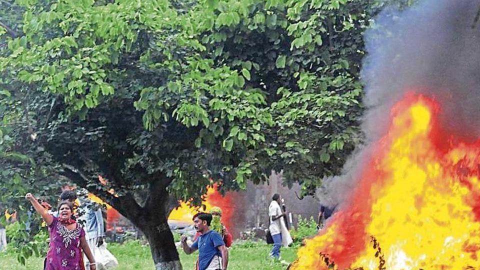 Dera rioters,Dera Sacha Sauda,Gurmeet Ram Rahim