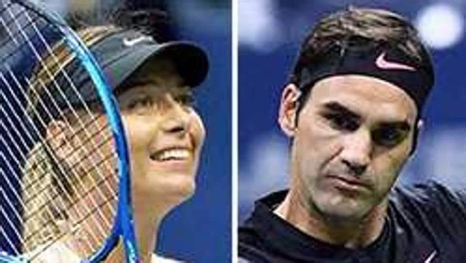 Maria Sharapova,Roger Federer,Rafael Nadal