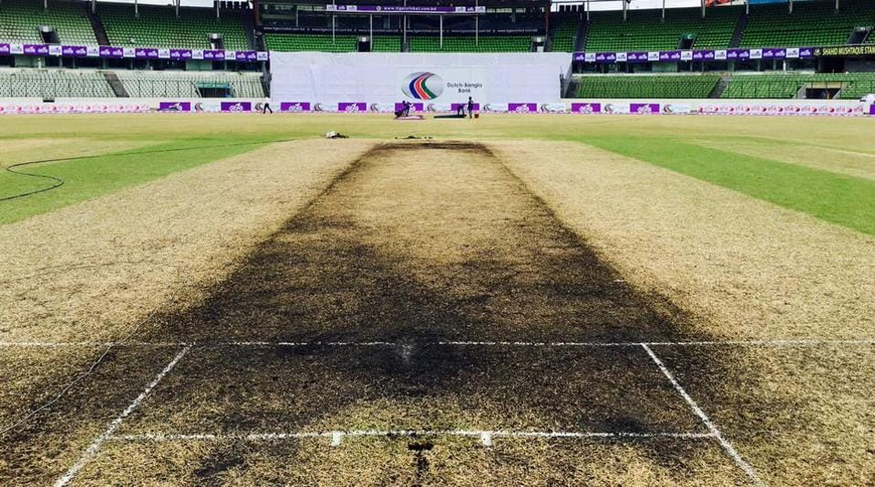 Tamim Iqbal wasn't a fan of how the pitch at Mirpur played.