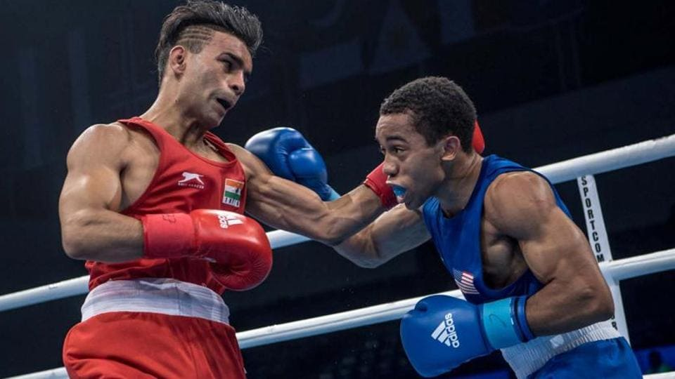 Gaurav Bidhuri,World Boxing Championships,Bidhuri medal