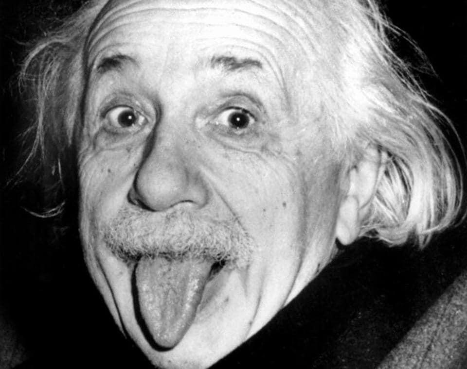 German physicist Albert Einstein