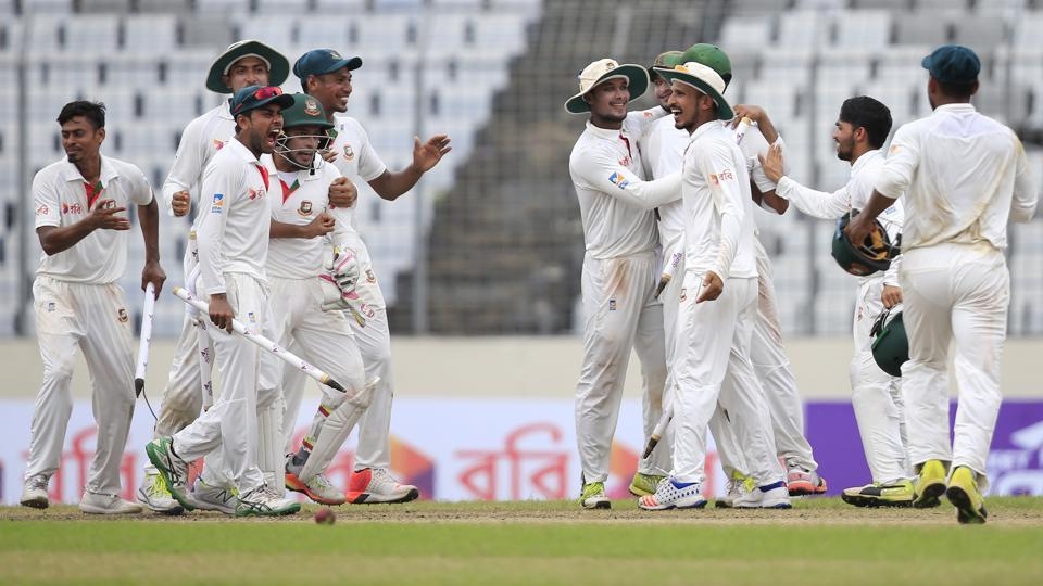 Bangladesh secured their first-ever Test win over Australia and they are on the cusp of securing their first-ever series win against Steve Smith's side.