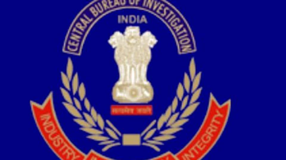 Logo of Central Bureau of Investigation.
