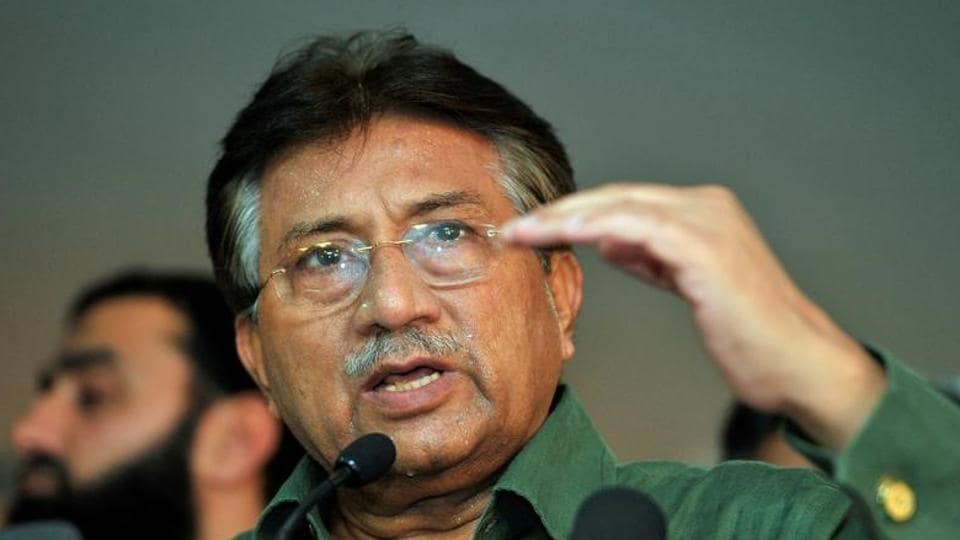 Pakistan's former President Pervez Musharraf.