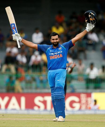Rohit Sharma slammed his second century of the series.  (REUTERS)