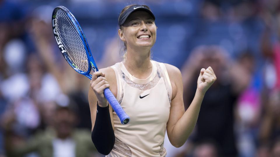 Maria Sharapova,Timea Babos,USOpen