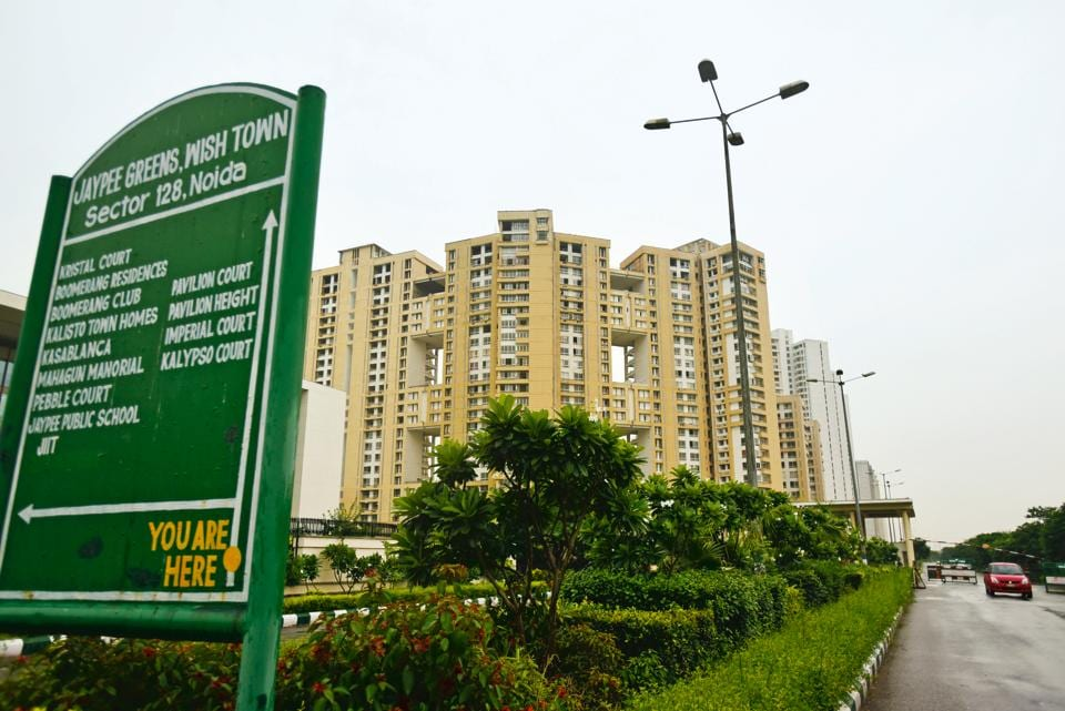 Noida, India - Aug. 23, 2017: Jaypee wish Town at sector 128, in Noida, India, on Wednesday, August 23, 2017. (Photo by Virendra Singh Gosain/ Hindustan Times) to go with Vinod Rajput's story.
